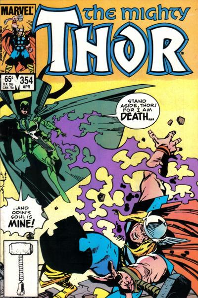 Cover for Thor (Marvel, 1966 series) #354 [Direct]