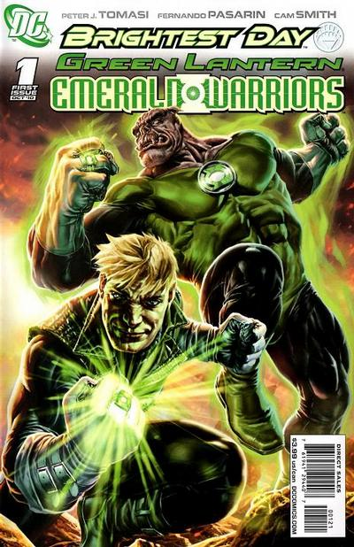 Cover for Green Lantern: Emerald Warriors (DC, 2010 series) #1 [Lee Bermejo Variant Cover]