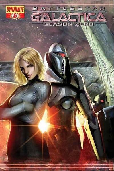 Cover for Battlestar Galactica: Season Zero (Dynamite Entertainment, 2007 series) #6 [Stjepan Sejic Cover]