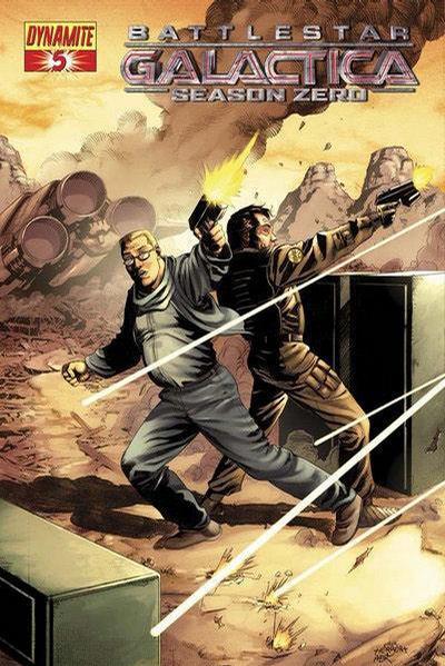 Cover for Battlestar Galactica: Season Zero (Dynamite Entertainment, 2007 series) #5 [Stjepan Sejic Cover]