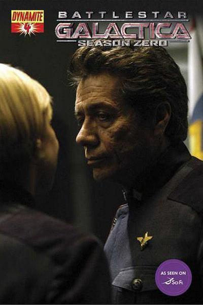 Cover for Battlestar Galactica: Season Zero (Dynamite Entertainment, 2007 series) #4 [Stjepan Sejic Cover]