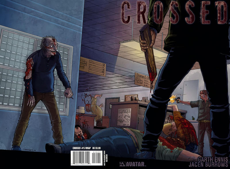 Cover for Crossed (Avatar Press, 2008 series) #5