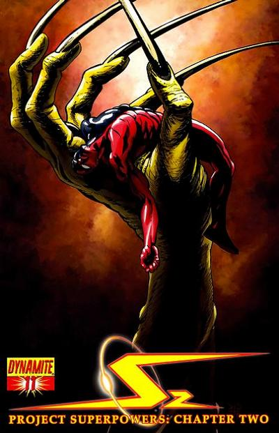 Cover for Project Superpowers: Chapter Two (Dynamite Entertainment, 2009 series) #11 [1 in 5 Variant Cover]