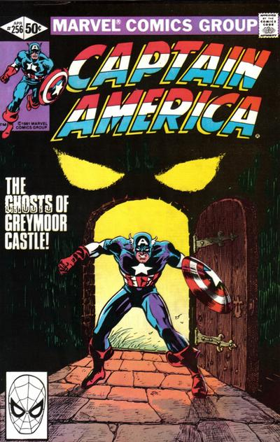Cover for Captain America (Marvel, 1968 series) #256 [British]