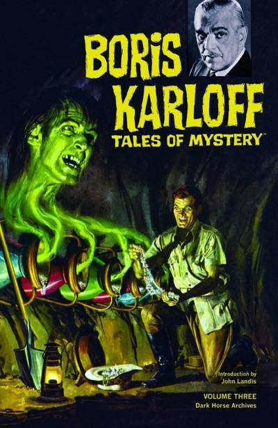 Cover for Boris Karloff Tales of Mystery Archives (Dark Horse, 2009 series) #3
