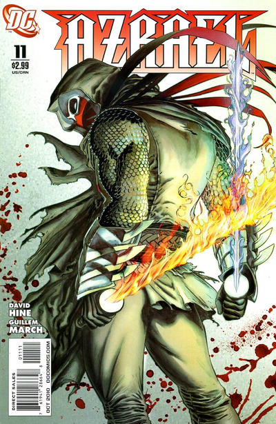 Cover for Azrael (DC, 2009 series) #11
