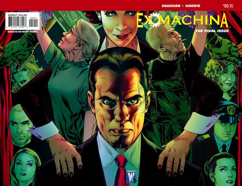 Cover for Ex Machina (DC, 2004 series) #50 [Regular Cover]