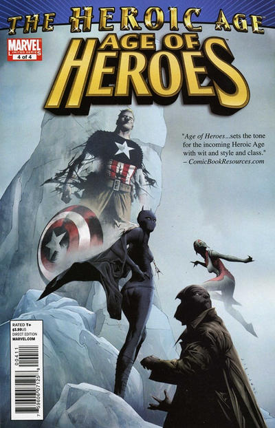 Cover for Age of Heroes (Marvel, 2010 series) #4