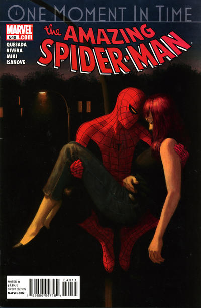 Cover for The Amazing Spider-Man (Marvel, 1999 series) #640