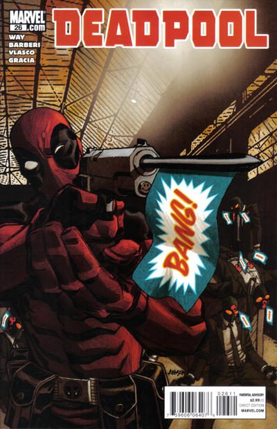 Cover for Deadpool (Marvel, 2008 series) #26