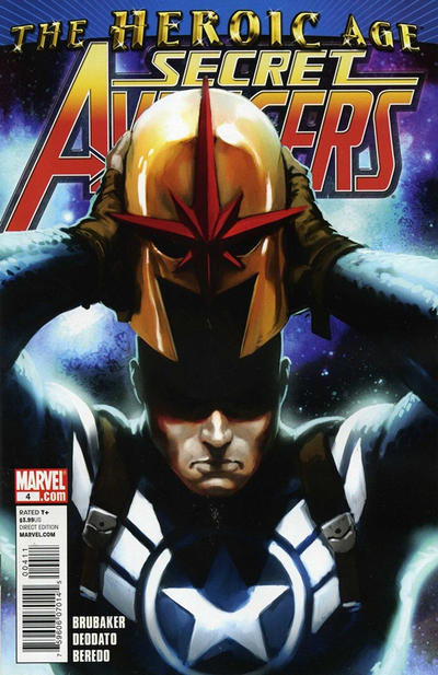 Cover for Secret Avengers (Marvel, 2010 series) #4 [Standard Cover]