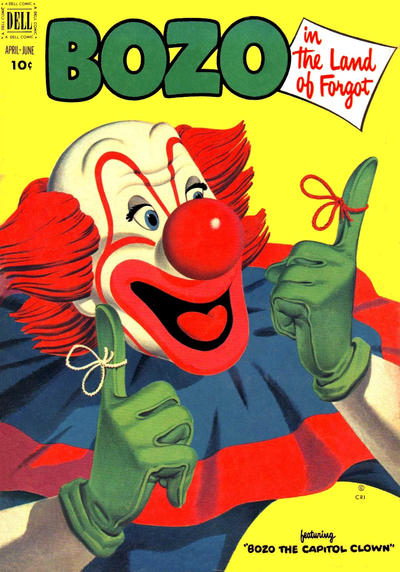 Cover for Bozo (Dell, 1952 series) #5