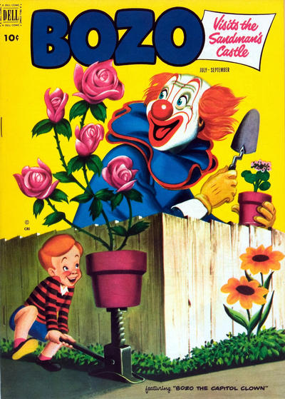 Cover for Bozo (Dell, 1952 series) #6
