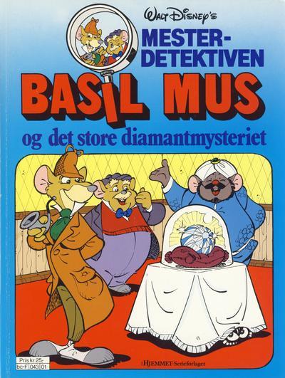 Cover for Mesterdetektiven Basil Mus (Hjemmet / Egmont, 1987 series) #[2]