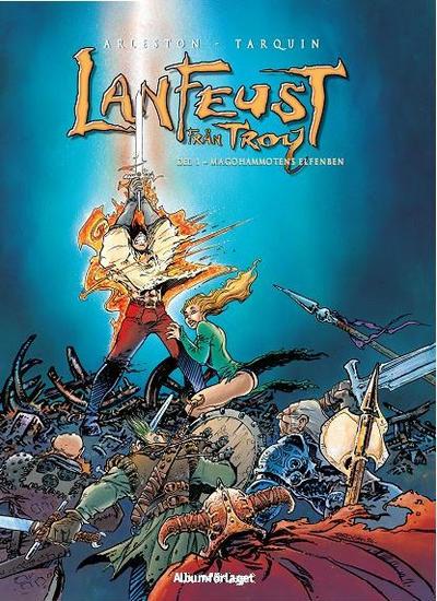 Cover for Lanfeust från Troy (Albumförlaget Jonas Anderson, 2010 series) #1