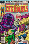 Cover for The Eternals (Marvel, 1976 series) #7 [British Price Variant]