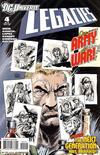 Cover for DCU: Legacies (DC, 2010 series) #4 [Alternate cover]