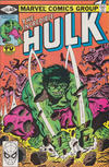 Cover Thumbnail for The Incredible Hulk (1968 series) #245 [direct edition]