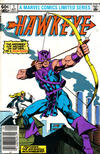 Cover Thumbnail for Hawkeye (1983 series) #1 [Newsstand]