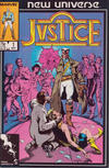 Cover for Justice (Marvel, 1986 series) #1 [Direct]