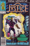 Cover for Justice (Marvel, 1986 series) #10 [Newsstand]