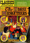 Cover Thumbnail for Classics Illustrated (1947 series) #1 [HRN 78] - The Three Musketeers [15¢]