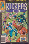 Cover for Kickers, Inc. (Marvel, 1986 series) #5 [Newsstand Edition]