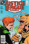 Cover for Justice League America (DC, 1989 series) #33 [Newsstand]