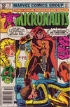 Cover Thumbnail for Micronauts (1979 series) #34 [Newsstand]