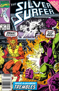 Cover Thumbnail for Silver Surfer (Marvel, 1987 series) #52 [Newsstand]