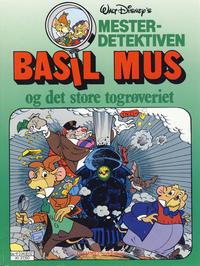Cover Thumbnail for Mesterdetektiven Basil Mus (Hjemmet / Egmont, 1987 series) #[3]