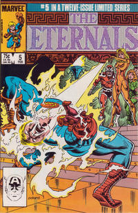Cover Thumbnail for Eternals (Marvel, 1985 series) #5 [Direct]