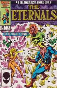 Cover for Eternals (Marvel, 1985 series) #9 [Canadian]