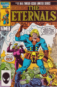 Cover Thumbnail for Eternals (Marvel, 1985 series) #11 [Direct]