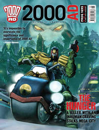 Cover Thumbnail for 2000 AD (Rebellion, 2001 series) #1695