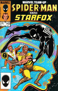 Cover Thumbnail for Marvel Team-Up (Marvel, 1972 series) #143 [Direct Edition]