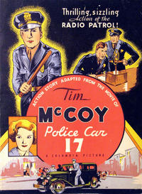Cover Thumbnail for Tim McCoy, Police Car 17 (Western, 1934 series) #674-1933