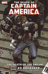 Cover Thumbnail for Captain America: The Death of Captain America (Marvel, 2008 series) #1 - The Death of the Dream