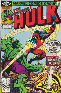 Cover Thumbnail for The Incredible Hulk (Marvel, 1968 series) #246 [Direct]