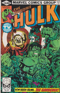 Cover Thumbnail for The Incredible Hulk (Marvel, 1968 series) #248 [Direct]