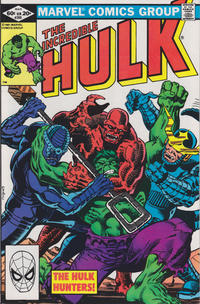 Cover Thumbnail for The Incredible Hulk (Marvel, 1968 series) #269 [Direct]