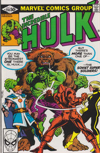 Cover Thumbnail for The Incredible Hulk (Marvel, 1968 series) #258 [Direct]