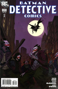 Cover Thumbnail for Detective Comics (DC, 1937 series) #868 [Direct Sales]