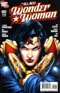 Cover Thumbnail for Wonder Woman (DC, 2006 series) #602