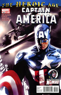Cover Thumbnail for Captain America (Marvel, 2005 series) #609 [Direct Edition]