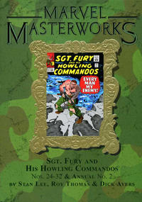 Cover Thumbnail for Marvel Masterworks: Sgt. Fury (Marvel, 2006 series) #3 (143) [Limited Variant Edition]