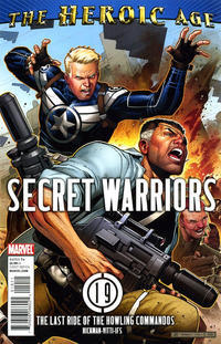 Cover Thumbnail for Secret Warriors (Marvel, 2009 series) #19