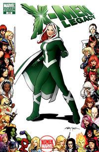 Cover Thumbnail for X-Men: Legacy (Marvel, 2008 series) #239 [Women of Marvel Variant Edition]