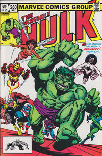 Cover Thumbnail for The Incredible Hulk (Marvel, 1968 series) #283 [Direct Edition]