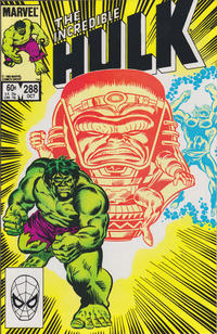 Cover Thumbnail for The Incredible Hulk (Marvel, 1968 series) #288 [Direct Edition]